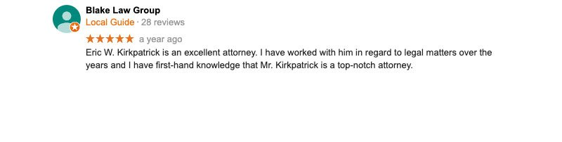 Reviews for Injury attorney in Southern Illinois.
