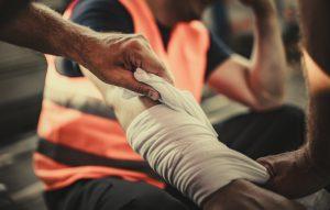 Construction Injury At Work